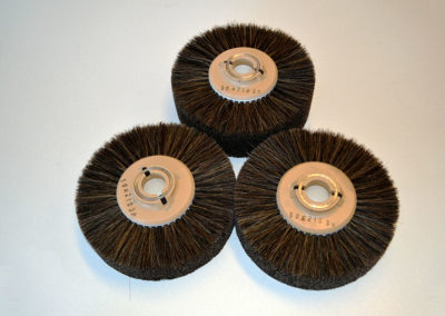 Cepillos de pelo de crin para dar brillo