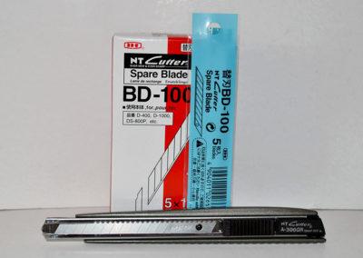 Cutter y cuchillas NT Cutter
