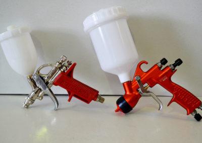Pistola de dar cola al agua / Pistola para difuminar y dar brillo