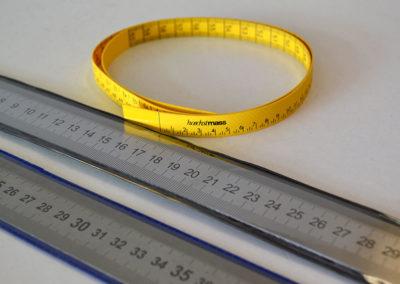 Reglas metálicas y cintras métricas